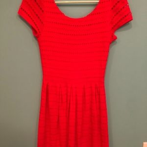 red dress (eyelet)
